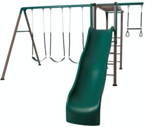 best metal swing sets