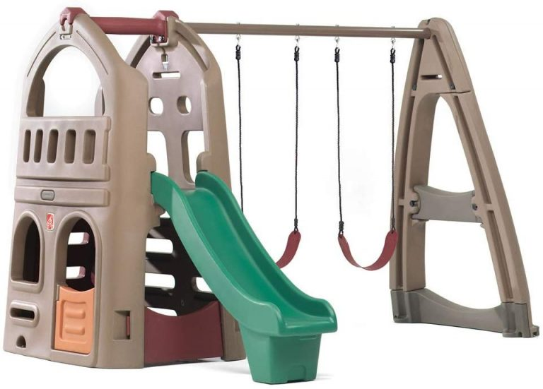 best swing sets for small yards